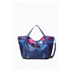 Desigual - Sac à main femme - BOLS_BLUE PAINTER ROTTERDAM | BLUE 18WAXF35