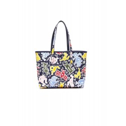 Lacoste - Sac cabas réversible - SHOPPING BAG | ANNA COLLAB KEITH HARING NF2764XM